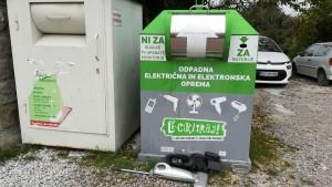 Reciclatge de petits electrodomèstics