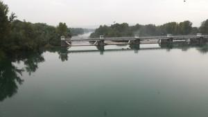 Creuem el riu Isonzo