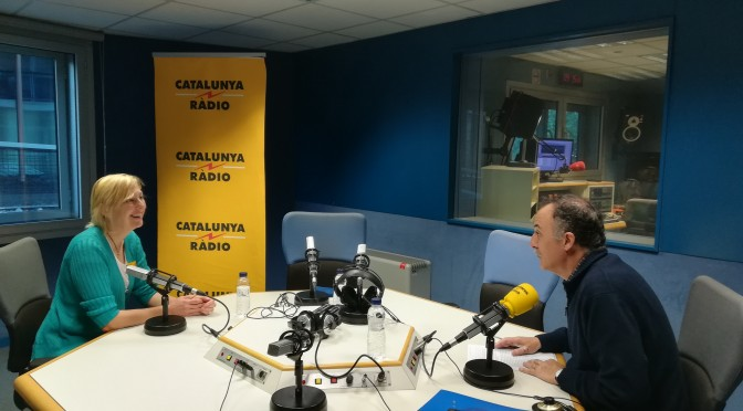 La nostra aventura, a Catalunya Ràdio / Our adventure broadcasted on the radio