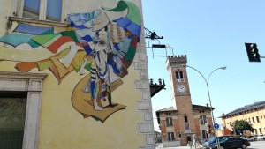 Art de carrer i torre de Guidizzolo