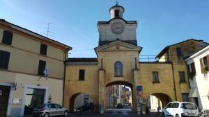 Entrada antiga a Ostiano