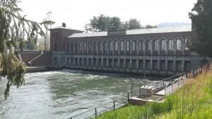 Inici del canal Cavour a Chivasso