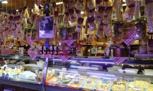 Mercat de menjar. Varietats de pasta
