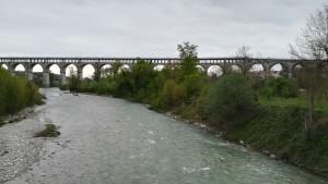 Cuneo, pont sobre el riu Stura