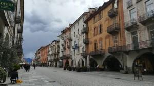 Cuneo, vía Roma