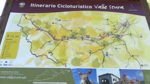 Itinerari cicloturístic de la vall del riu Stura