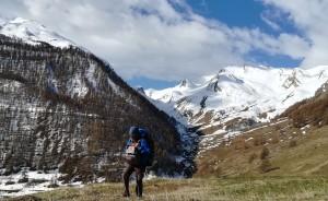 Arribant al cim, arribant als 15.000 quilòmetres caminats