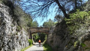 Fabulosa vía de bicicletes Calavon