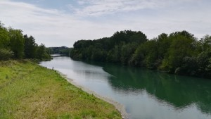 Pescant al riu Gardon