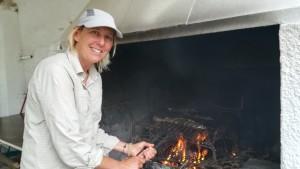 Jenn cuinera, molt contenta amb la generositat finalment trobada