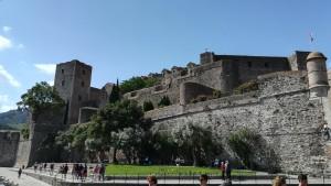 Cotlliure, castell