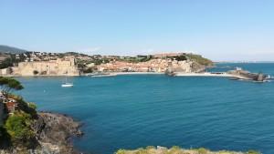 Cotlliure, castell i port