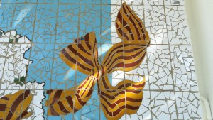 Senyera artística / Artístic Senyera (Catalan flag)