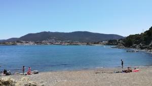 Llançà, platja