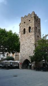 Llançà, torre romànica del segle XIII - XIV