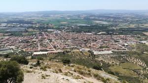 Vistes des del castell de Torroella de Montgrí. Vistes de Torroella de Montgrí