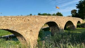 Exterior del pont de Gualta