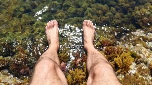 Un banyet refrescant, restaurador dels malmesos peus