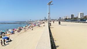 Barcelona. La primera platja