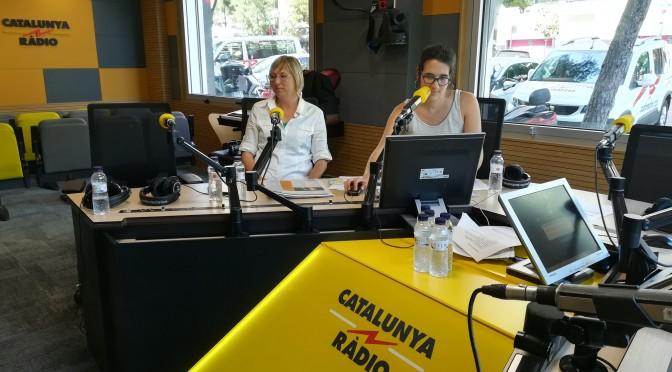 Entrevista a Catalunya Ràdio – Estat de Gràcia