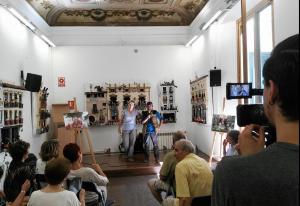 Roda de premsa a la Casa dels Entremesos