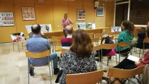 Sessió de preguntes a la biblioteca Vapor Vell