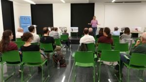 Sessió de preguntes a la biblioteca Montserrat Abelló