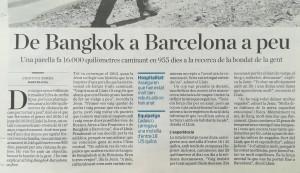 Entrevista publicada al diari Ara