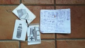 Bloc de notes i Diccionari d'imatges