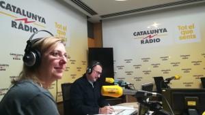 L'entrevista a La Nit dels Ignorants de Catalunya Ràdio. Jenn i Xavier en directe