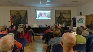 Sessió de preguntes a l'associació veïnal Baix a Mar de Vilanova i la Geltrú. Presentació del teaser o video curt