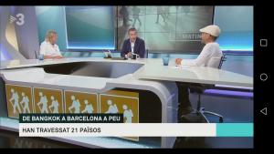 L'entrevista als Matins de TV3
