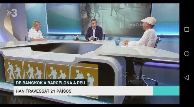 Entrevista als Matins de TV3