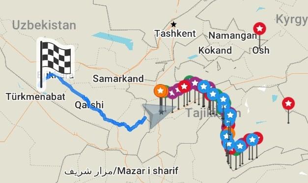 Heading to Uzbekistan