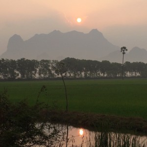 Sunrise, Hpa-An