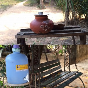 Water jugs, a common site around Burma.