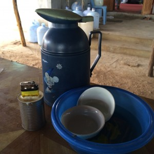 Tea time.