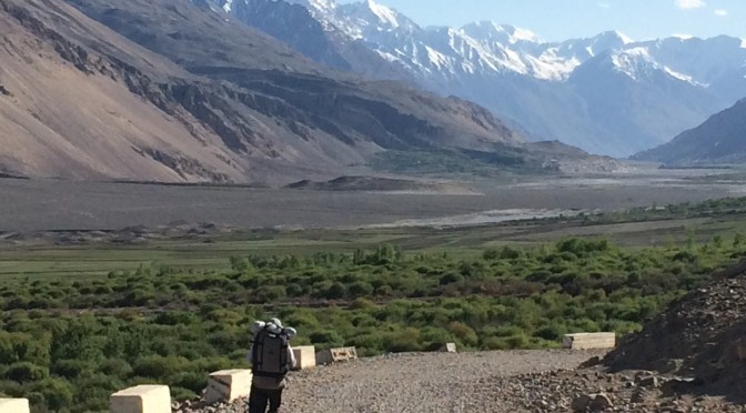 Walking the Wakhan Valley
