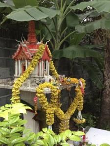 Spirit house in Bangkok, Thailand